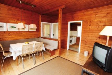 Wohnbereich – Ferienhäuser Leitner – Ferienhaus am Millstätter See – Familienurlaub in Kärnten am See