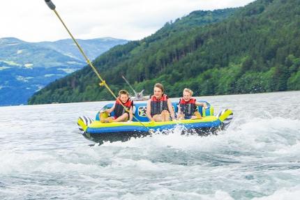 Sofa fahren beim Schwesterhotel Sporthotel ROYAL X am Millstätter See – Urlaub in Kärnten am See
