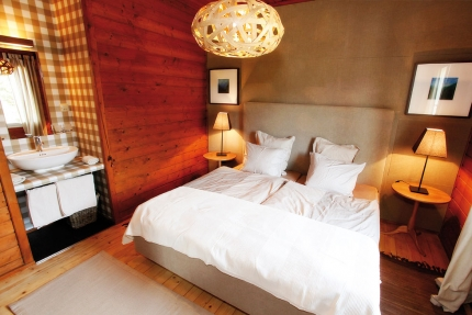 Ferienhäuser Leitner – Schlafzimmer – Ferienhäuser am Millstätter See – Urlaub in Kärnten am See