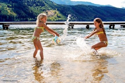 Millstätter See – Baden am Millstätter See – Urlaub am Millstätter See – Urlaub in Kärnten am See – Ferienhäuser am See