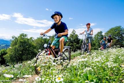 Radfahren am Millstätter See – Urlaub am Millstätter See – Urlaub in Kärnten am See – Ferienhäuser am See