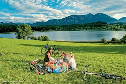 Radfahren am Millstätter See – Familienurlaub in Kärnten am See – Ferienhaus am Millstätter See – Ferienhäuser Leitner