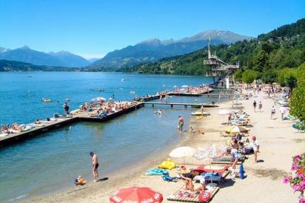 Strandbad Seeboden – Urlaub am Millstätter See – Urlaub am See in Kärnten