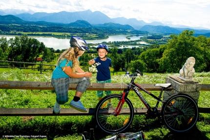 Radfahren am Drauradweg – Urlaub am Millstätter See – Urlaub am See in Kärnten