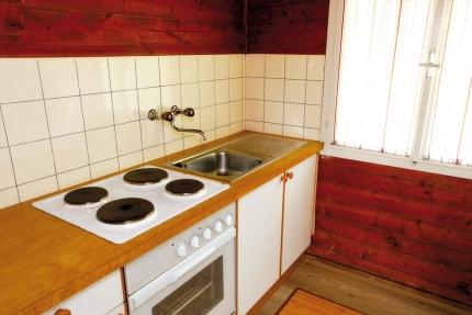 Küche – Selbstversorger in den Ferienhäusern Leitner – Ferienhaus am Millstätter See – Familienurlaub in Kärnten am See