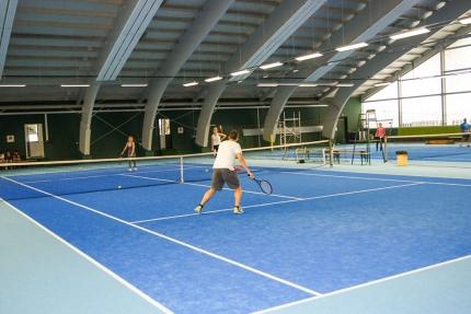 Tennishalle am Millstätter See beim Schwesterhotel Sporthotel ROYAL X – Ferienhäuser Leitner – Familienurlaub in Kärnten